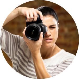 Belinda, Fotografin von Models